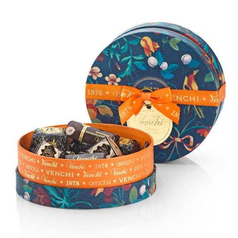 Venchi - Orange round box - Horizon Collection