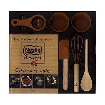 Editions Hachette - Coffret chocolat Nestlé - Cuisine à 4 mains