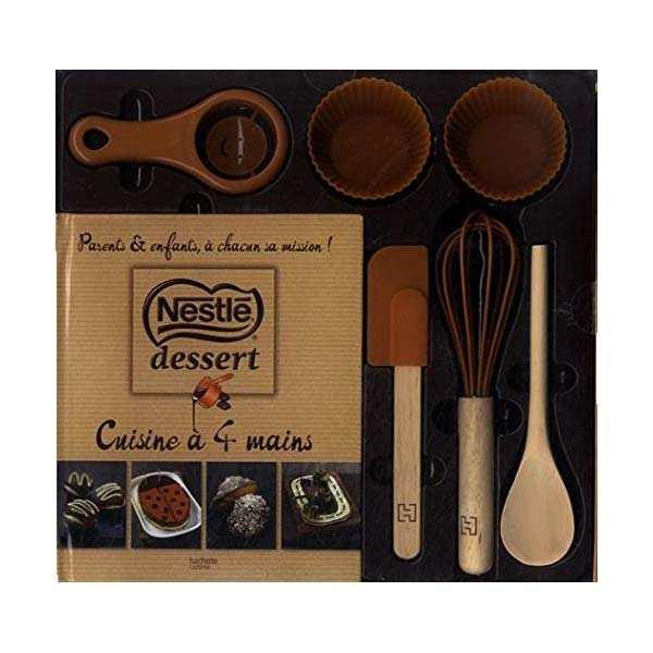 coffret chocolat nestlé - cuisine à 4 mains - editions hachette