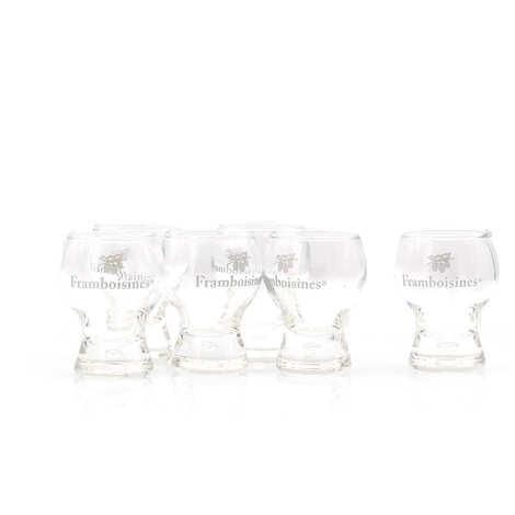 Grandes Distilleries Peureux - 6 verres gravés Framboisines Peureux®