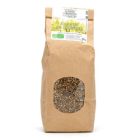 Ferme de Bonneval - Organic hemp seeds with shell