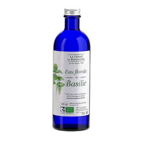 Ferme de Bonneval - Organic Basil Blossom Water
