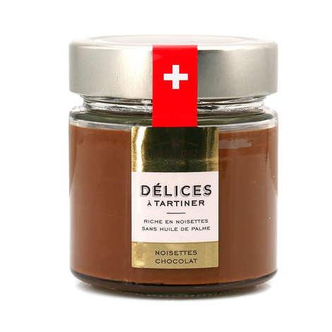Favarger - Pâte à tartiner Chocolat Suisse aux Noisettes