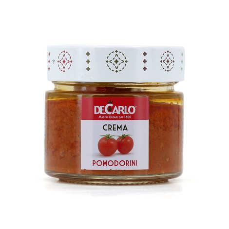 De Carlo - Red passion - crème pimentée de tomates cerises séchées à l'huile d'olive