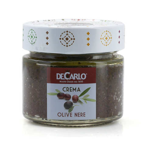 De Carlo - Crème d'olives noires