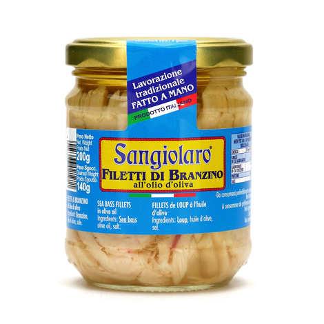Sangiolaro - Filet de loup à l'huile d'olive