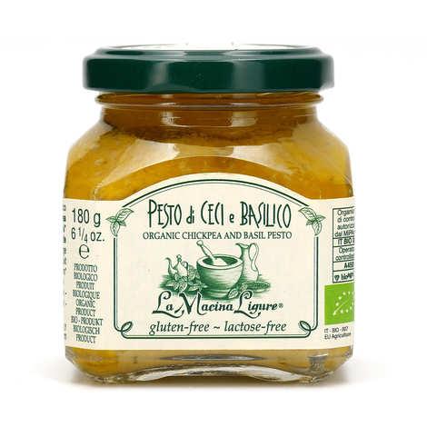 La Macina Ligure - Pesto de pois chiche et basilic bio