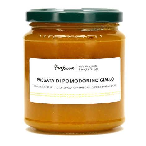 Paglione - Passata Contadina de tomates cerises jaunes bio