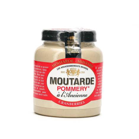 Les assaisonnements Briards - Moutarde aux cranberries - Pommery