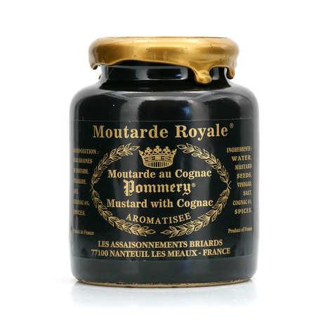 Les assaisonnements Briards - Moutarde Royale au cognac - Pommery