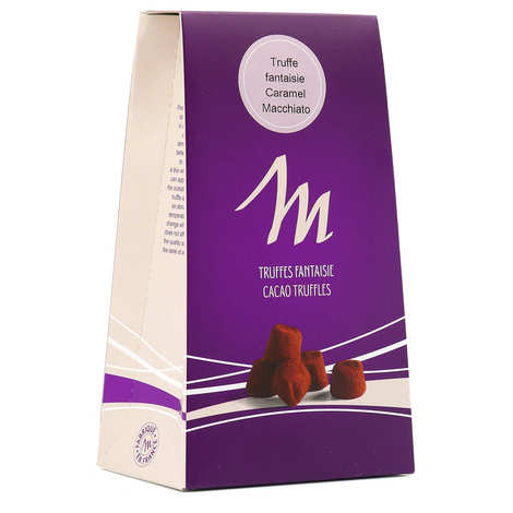 Chocolat Mathez - Chocolate, Toffee and Machiatto Truffles