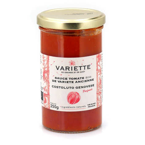 Variette - Organic tomato sauce of red old variety Costoluto Genovese