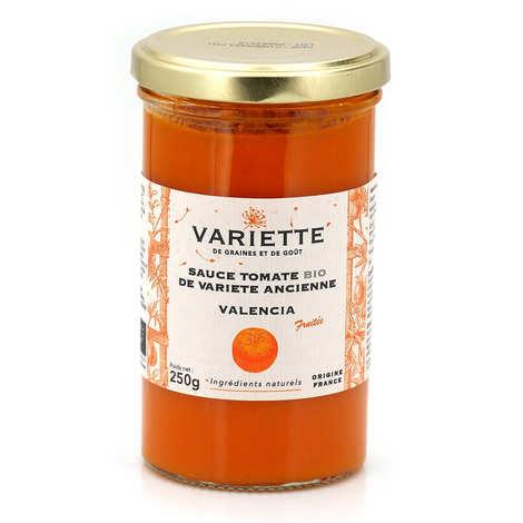 Variette - Organic tomato sauce of old variety orange Valencia