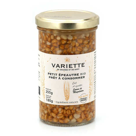 Variette - Petit épeautre bio prêt à consommer