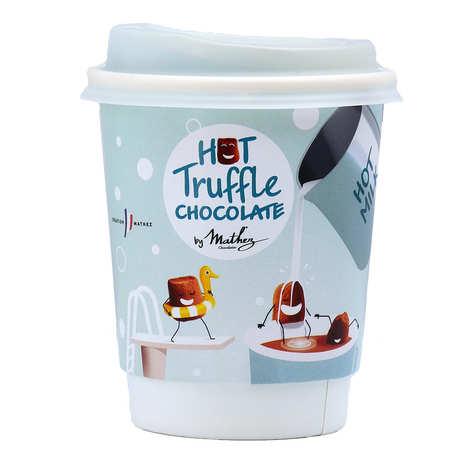 Chocolat Mathez - Take Away Mathez : Mug pour chocolat chaud de truffes
