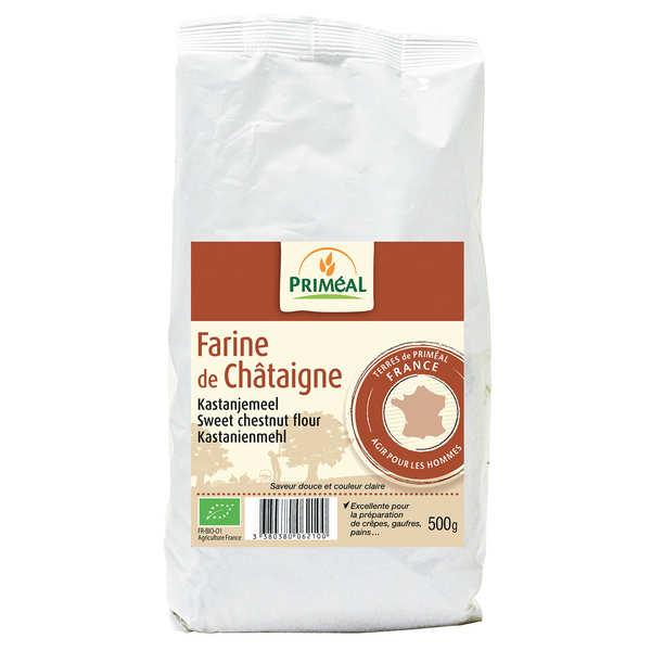 Organic chestnut flour (500g)