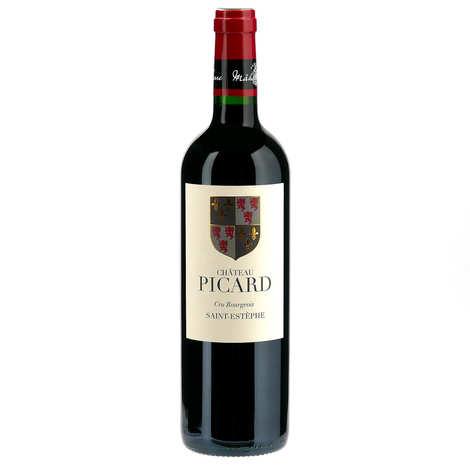 Château Picard - Château Picard Saint Estèphe cru bourgeois - red wine