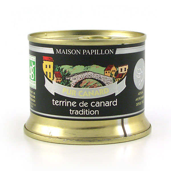 Terrine 100% canard tradition bio