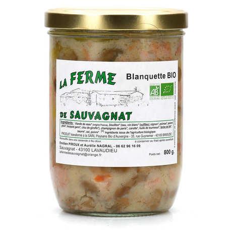 La ferme de Sauvagnat - Blanquette of veal organic