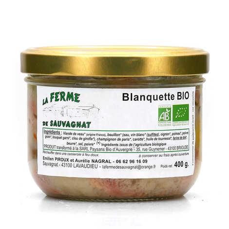La ferme de Sauvagnat - Blanquette de veau bio