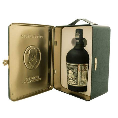 Destilerias Unidas - Diplomatico Reserva Exclusiva in Gift Tin Box and 2 glasses