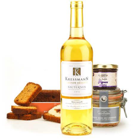 - Assortiment gourmand soirée foie gras