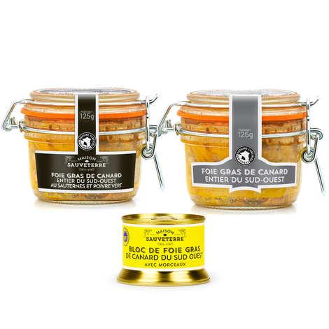 Maison Sauveterre - Lot de foie gras Maison Sauveterre