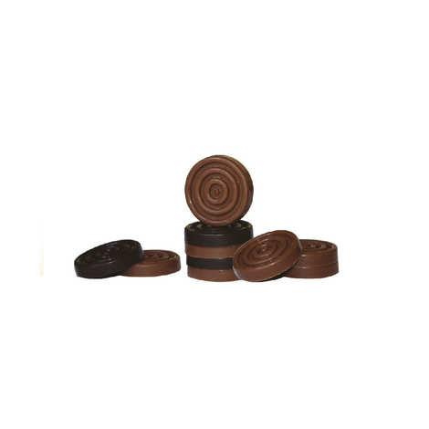 Maison Mercier - Jeu de dames en chocolat