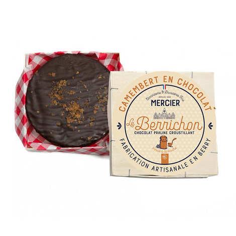Maison Mercier - Camembert en chocolat - Le Berrichon