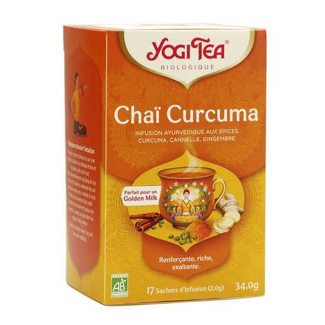Yogi Tea - Infusion Chaï curcuma - Yogi Tea