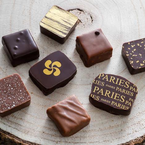 Maison Pariès - Metal Box - Paries chocolates