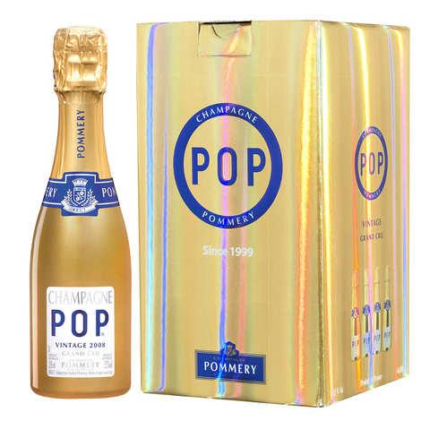Pommery - Champagne Gold Pop Vintage  Pommery étui 4 quarts