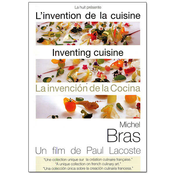 L'invention de la cuisine - Michel Bras - le DVD
