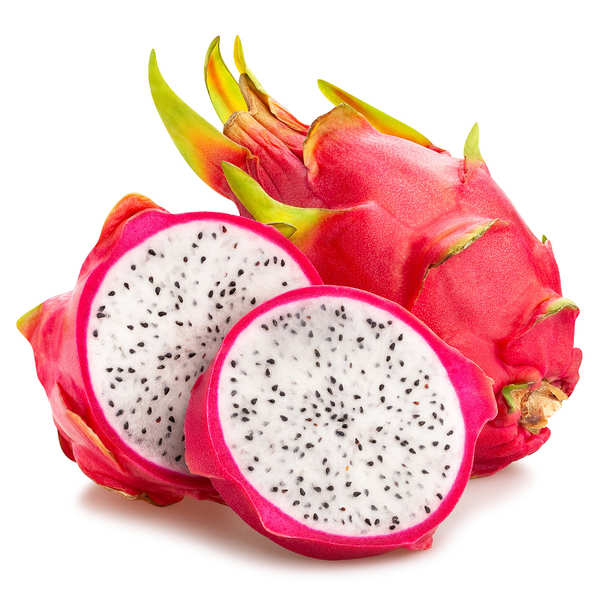 Pitaya rouge frais (fruit du dragon)