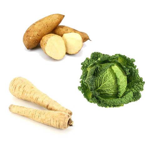 - Assortiment découverte de légumes de saison frais bio