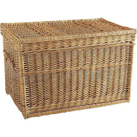 Aubry-Gaspard - Wicker basket buff
