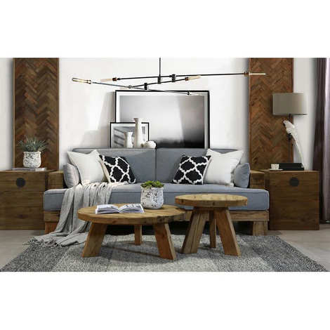 Aubry-Gaspard - Square chest of recycled pine