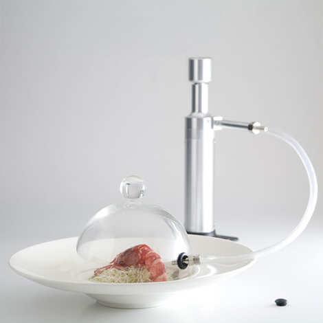 100 % Chef - Glass cover for Aladin smoke aromatiser