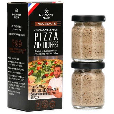 Diamant Noir - Preparation for pizza with Truffles
