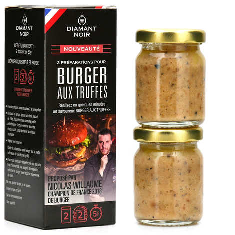 Diamant Noir - Preparation for burger with Truffles