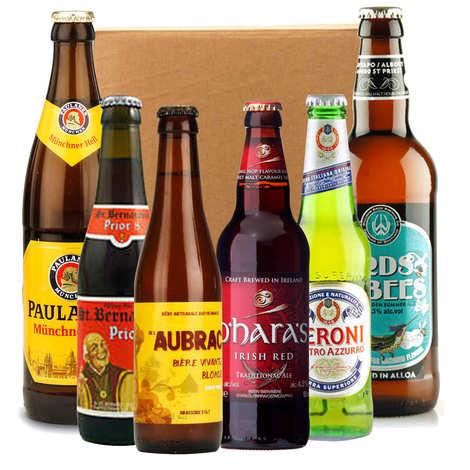 - Box découverte de 6 bières d'Europe (décembre)