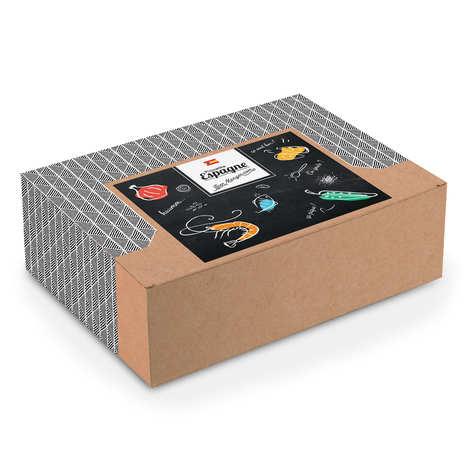 "- ""Spicy Spain"" gift box - 25 x 11 x 33cm"