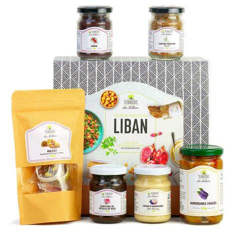 "BienManger paniers garnis - Coffret cadeau ""Gourmand Liban"""
