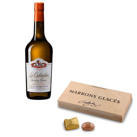 - Marrons glacés Corsiglia & Calvados Christian Drouin