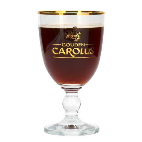 Brasserie Het Hanker - Verre à bière Gouden Carolus