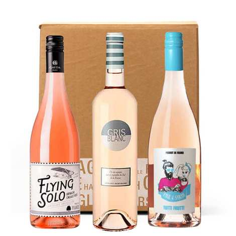 - Box 3 rosé wines to discover
