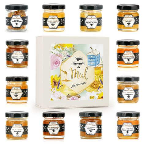 Maison Sauveterre - 12 Honey Jars Gift Box
