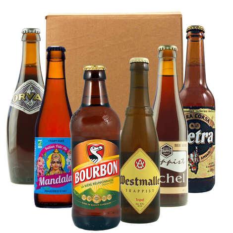 - Box découverte de 6 bières franco-belge (janvier)