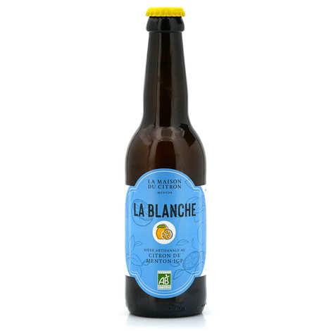La Maison du Citron - Organic white beer with lemon of Menton