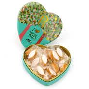 Boite métal cœur de petits calissons d'Aix I Love Trees